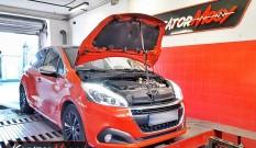 Peugeot 208 1.2 PureTech 110 KM – chiptuning