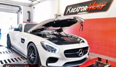 Mercedes AMG GT S 4.0T 510 KM 375 kW – chiptuning