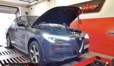 Alfa Stelvio 2.0T 200 KM 147 kW – chptuning