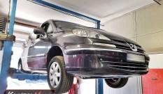 Peugeot 807 2.0 HDI 163 KM – usuwanie DPF