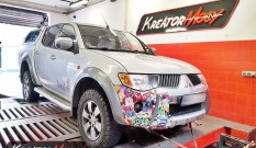 Mitsubishi L200 2.5 DID 136 KM – chiptuning