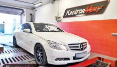 Mercedes W207 E 200 1.8T 184 KM – chiptuning