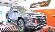 Mitsubishi L200 2.2 DID 150 KM 4N14 – chiptuning