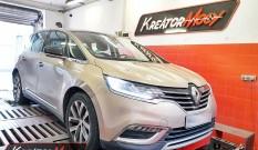 Renault Espace 1.6 DCI 130 KM – chiptuning