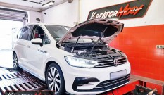 VW Touran 2.0 TDI 190 KM (DFHA) – chiptuning
