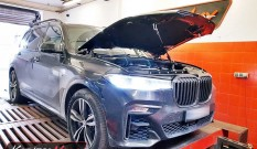 BMW X7 G07 M50d 3.0d 400 KM 294 kW – chiptuning