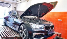 BMW G12 750i 4.4T 450 KM – chiptuning