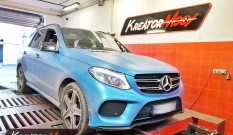 Mercedes W166 GLE 250d 2.1 204 KM 150 kW – chiptuning