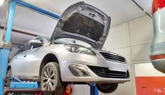 Peugeot 308 II 1.6 BlueHDI 120 KM – usuwanie DPF i SCR