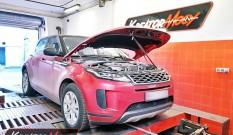 Range Rover Evoque D150 2.0d 150 KM 110 kW – chiptuning