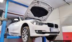 BMW F31 325d 2.0d 218 KM – usuwanie DPF