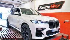 BMW X7 G07 3.0D 265 KM 195 kW (B57D30O0) – chiptuning