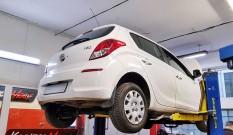 Hyundai i20 1.4 CRDI 90 KM – usuwanie DPF