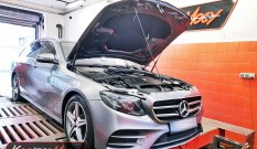 Mercedes W213 E400 3.0T 333 KM 245 kW – chiptuning