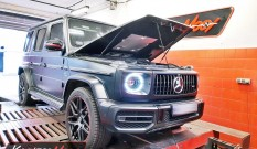 Mercedes W463 G 500 4.0 V8 422 KM 310 kW – chiptuning