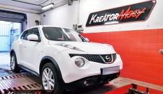 Nissan Juke 1.5 DCI 110 KM 81 kW – chiptuning
