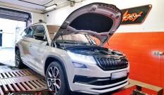 Skoda Kodiaq RS 2.0 TDI 240 KM 176 kW (CUAA) – chiptuning