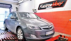 Opel Astra J 1.6 Turbo 180 KM 132 kW – chiptuning