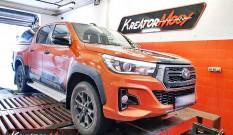 Toyota Hilux 2.4 D4D 150 KM 110 kW – chiptuning