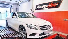 Mercedes W205 C 200d 2.0d 150 KM 110 kW – chiptuning
