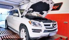 Mercedes X166 GL 450 4.7 V8 Biturbo 367 KM – chiptuning