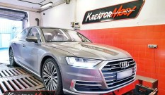 Audi A8 D5 55 TFSI 3.0 340 KM 250 kW (CZSE) – chiptuning