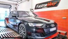 Audi S8 D5 4.0 TFSI 571 KM 420 kW (CWWB) – chiptuning