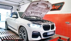 BMW X4 G02 20i 2.0T 184 KM 135 kW – chiptuning