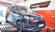 Toyota ProAce City 1.5 D4D 102 KM 75 kW – chiptuning