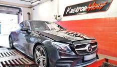Mercedes C238 E400 3.0T 333 KM 245 kW – chiptuning