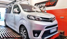Toyota ProAce 2.0 D4D 150 KM 110 kW – chiptuning