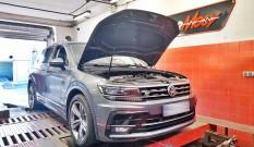 VW Tiguan II 2.0 TSI 190 KM 140 kW (DKZA) – chiptuning