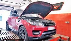Range Rover 4.4 SDV8 340 KM 250 kW – chiptuning