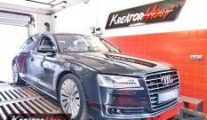 Audi A8 L D4 3.0 TDI 258 KM 190 kW (CTBA) – chiptuning