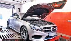 Mercedes C218 CLS 400 3.5 333 KM 245 kW – chiptuning