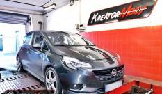 Opel Corsa E 1.4 Turbo 150 KM 110 kW – chiptuning