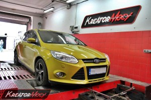 Chip tuning Ford Focus MK3 1.6 EcoBoost 150 KM
