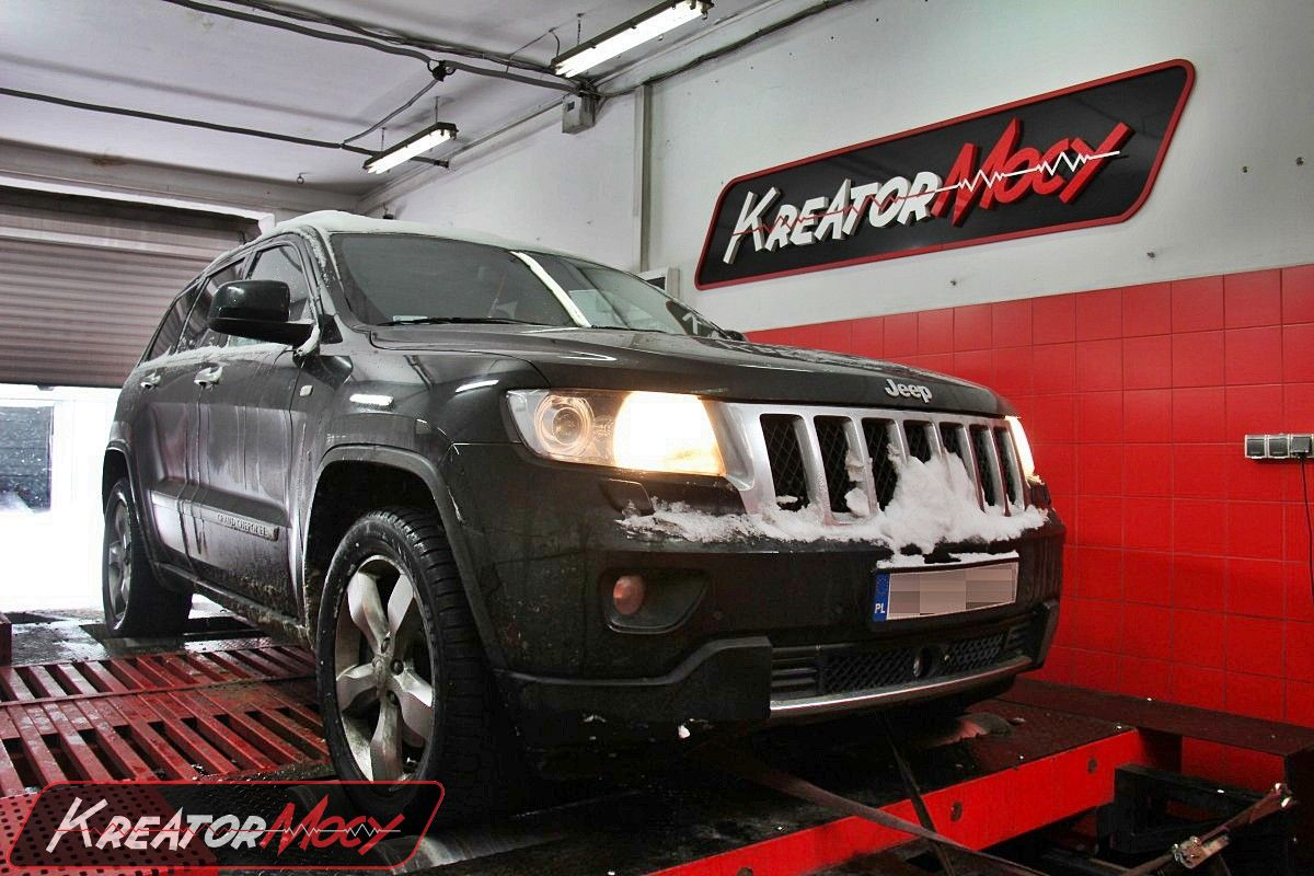 Chip tuning Jeep Grand Cherokee 3.0 CRD 243 KM