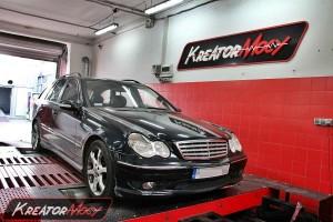 Mercedes W203 C 200 CDI 122 KM (automatyczna skrzynia)