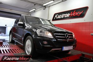 Mercedes W164 ML 320 CDI 224 KM