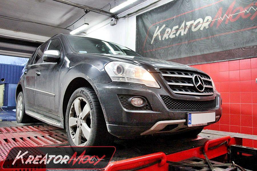 Hamowni Mercedes W164 ML 420 CDI 306 KM