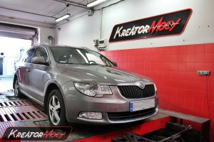 Skoda Superb 2.0 TDI 170 KM 4x4