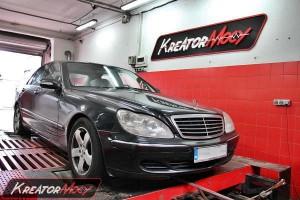 Mercedes W220 S 320 CDI 204 KM
