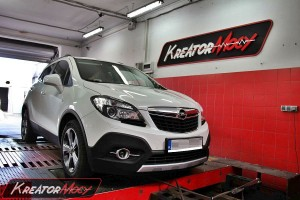Hamownia Opel Mokka 1.4 Turbo 140 KM
