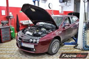 Filtr cząstek stałych Alfa Romeo 159 2.0 JTDM 170 KM