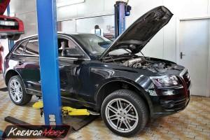 Filtr cząstek stałych Audi Q5 3.0 TDI 245 KM