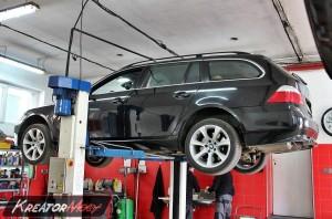 Filtr cząstek stałych BMW 5 E61 535d 3.0sd 286 KM