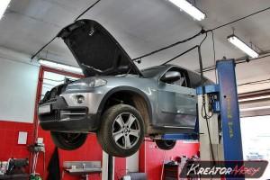 Filtr cząstek stałych BMW X5 E70 xDrive35d 3.0sd 286 KM