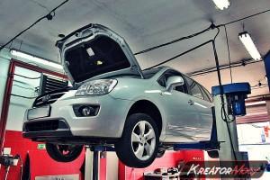Filtr DPF Kia Carens 2.0 CRDI 140 KM