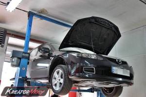 Filtr cząstek stałych Mazda 6 2.0 MZR-CD 143 KM